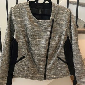 Lane Bryant Silvery Sparkly Jacket Women's Size 20